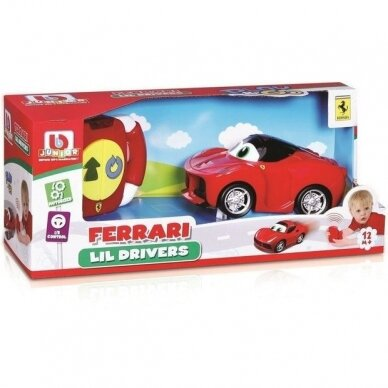 BB JUNIOR valdomas automobilis Ferrari Lil Drivers, 16-82002