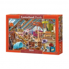Castorland dėlionė THE CLUTTERED ATTIC, 500 det.