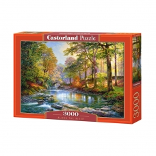 Castorland dėlionė Spalvota upė 3000 det.