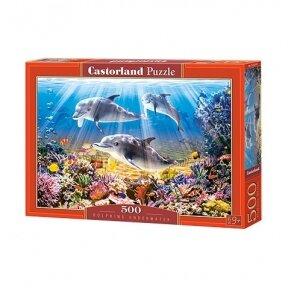Castorland dėlionė Miško karalius, 500 det.