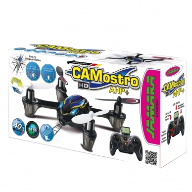 Dronas Camostro HD AHP+ Quadrocopter w. Camera 2