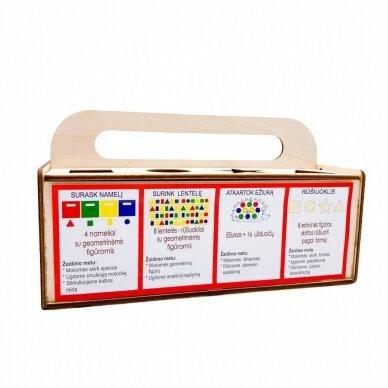Edukacinis medinis žaidimas Stebuklinga skrynelė