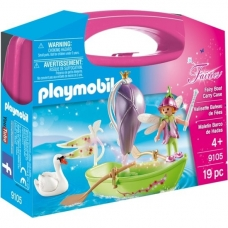 Konstruktorius PLAYMOBIL Fairy Boat Carry Case, 9105