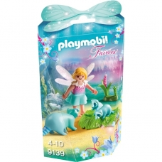 Konstruktorius PLAYMOBIL  Fairy Girl with Racoons