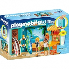 Konstruktorius PLAYMOBIL  Surf Shop Play Box