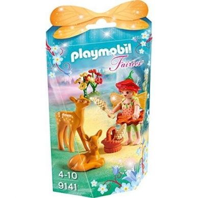 Konstruktorius PLAYMOBIL  Fairy Girl with Fawns, 9141