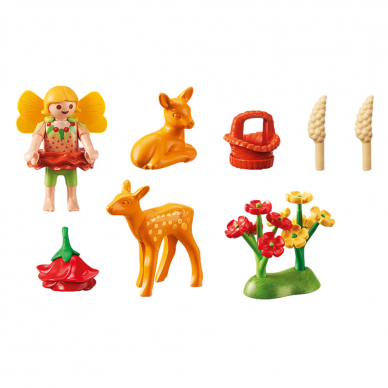 Konstruktorius PLAYMOBIL  Fairy Girl with Fawns, 9141 2