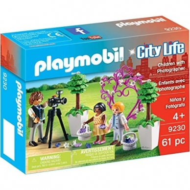 Konstruktorius PLAYMOBIL Flower Children and Photographer, 9230