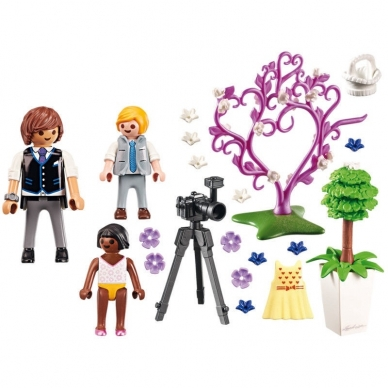 Konstruktorius PLAYMOBIL Flower Children and Photographer, 9230 2