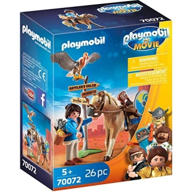 Konstruktorius PLAYMOBIL The Movie Marla su arkliu