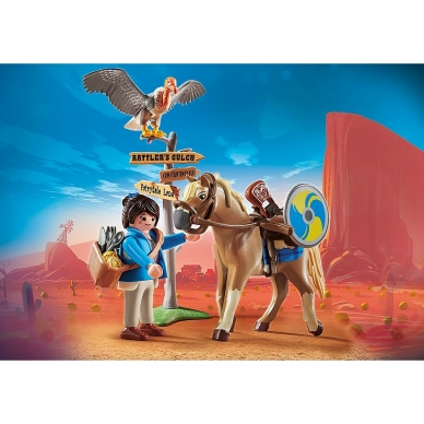 Konstruktorius PLAYMOBIL The Movie Marla su arkliu 3
