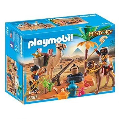 Konstruktorius PLAYMOBIL  Tomb Raiders' Camp, 5387