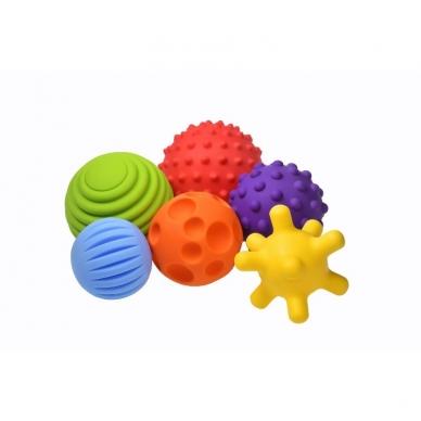 """Lavinamųjų kamuoliukų rinkinys """"Sensoriniai kamuoliukai"""" 4"""