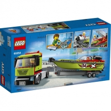 LEGO City Great Vehicles Lenktyninės valties transporteris, 60254