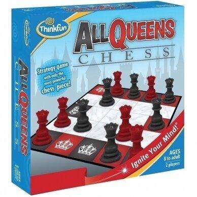Loginis žaidimas ThinkFun All Queen Chess