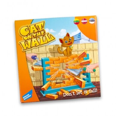 Stalo žaidimas Katė ant sienos
