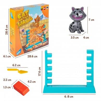 Stalo žaidimas Katė ant sienos 3