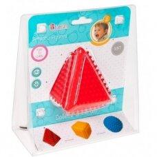Žaislas sensorinis trikampis su spygliais
